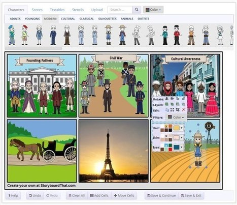 Storyboard That: The World's Best FREE Online Storyboard Creator | Educational Tools | Scoop.it