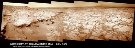 Curiosity Celebrates 1st Martian Christmas at Yellowknife Bay - Universe Today | Geology | Scoop.it