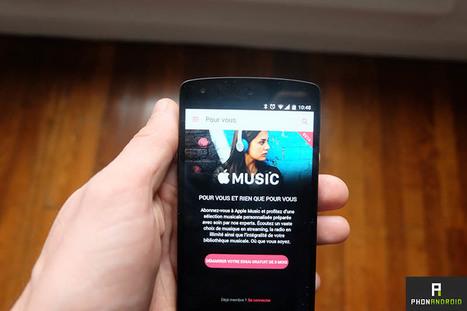 Apple Music pour Android peut désormais stocker vos musiques sur la carte microSD | Nouvelles de la musique | Scoop.it