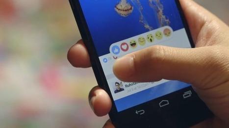 """Ecco gli emoji che affiancheranno il Like su Facebook - Wired   DRUPAL """"in italiano""""   Scoop.it"""