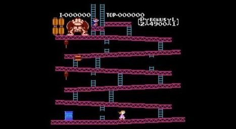 Dad hacks Donkey Kong so daughter can save Mario | Games World | Scoop.it
