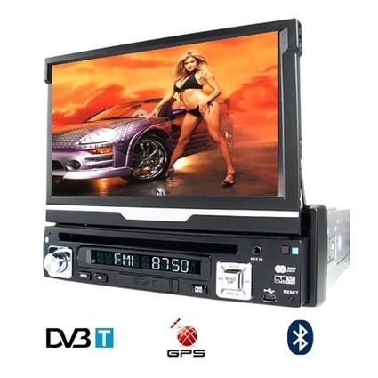 Autoradio 1 DIN DVD DIVX TNT GPS Bluetooth Ecran Tactile Autoradio DVD GPS multimedia - Poste Radio - Autoradio GPS Android - Votre boutique en ligne High Tech Shop | Poste Radio << Autoradio GPS << Autoradio pas cher | Scoop.it