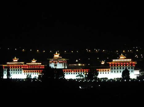 Photographs: Tashicho Dzong during the Royal Wedding | BhutanKingdom | Scoop.it