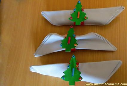 Mamme come me: Porta tovaglioli per la tavola di Natale | Lavoretti | Scoop.it