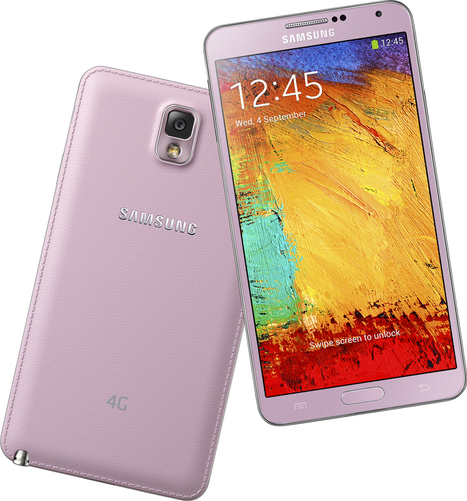 Samsung Note 3 LTE in Blush Pink, S4 LTE available in Singapore | 4G Times | Scoop.it