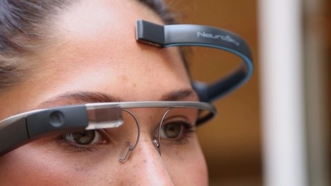 "Tech Crunch : ""MindRDR is a Google Glass app you control with your thoughts 