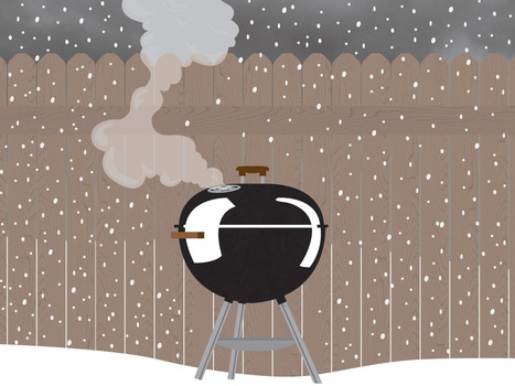 The Comfort Food Diaries: Grilling in Winter | @FoodMeditations Time | Scoop.it