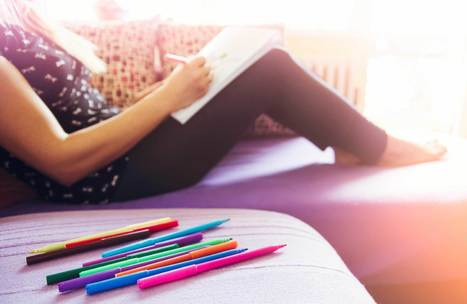 Coloring Books for Adults: 8 Benefits of Coloring | Reader's Digest | ♨ Family & Food ♨ | Scoop.it