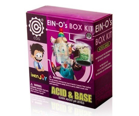 Acids & Base | Chemical Reactions | Chemistry Projects | Educational Toys | Scoop.it