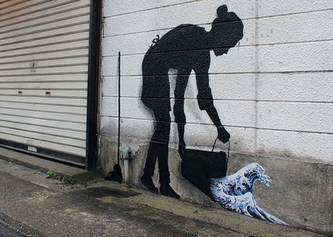 Pejac in Asia: between creative street art and clever urban hijacking | D_sign | Scoop.it