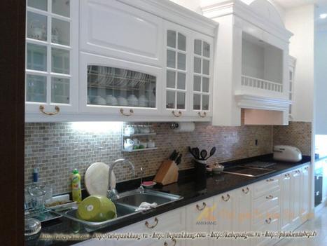 Tủ bếp gỗ sồi anh ĐỊNH TBAK367. | Tủ bếp, Bếp An Khang tạo dấu ấn cho ngôi nhà VIỆT 0839798355 | Scoop.it