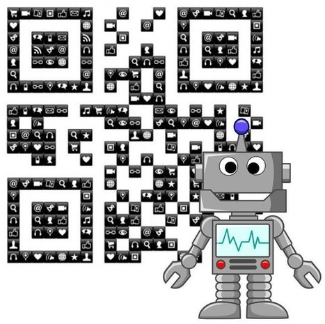 QR codes simplify robot navigation - Mobile Commerce Press | REALIDAD AUMENTADA Y ENSEÑANZA 3.0 - AUGMENTED REALITY AND TEACHING 3.0 | Scoop.it