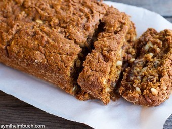 Healthy pumpkin and spice quickbread with nuts [Vegan, Gluten-Free] | Cooking | Scoop.it