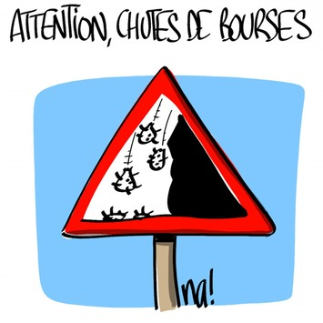 "Attention, chutes de bourses | Argent et Economie ""AutreMent"" 