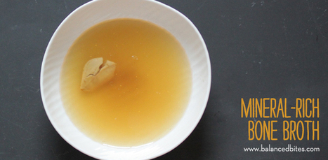 Easy Recipe: Mineral-Rich Bone Broth | Healthy Recipes and Tips for Healthy Living | Scoop.it