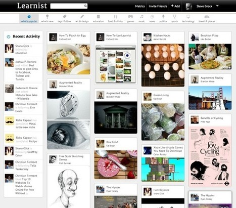 Grockit Launches Learnist, a Pinterest for Education | Shift Education | Scoop.it