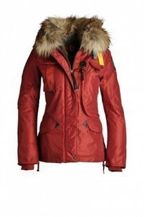 Red Parajumpers New Denali Down Jacket For Woman | winter wear | Scoop.it