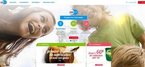 DanOn, la nouvelle plateforme de Danone | Food&Bev - Edible News (FMCG & Retail) | Scoop.it