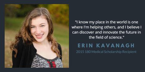 180 Medical 2015 College Scholarship Recipients: Spotlight on Erin | Catheterization Resources | Scoop.it