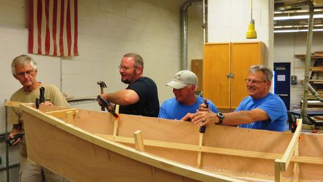 Lewes historians take boat building past into schools - The News Journal | Craft Boats - Handcrafted wooden boats | Scoop.it