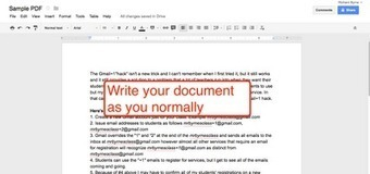 Free Technology for Teachers: How to Create PDFs in Google Drive in Three Steps | teaching with technology | Scoop.it