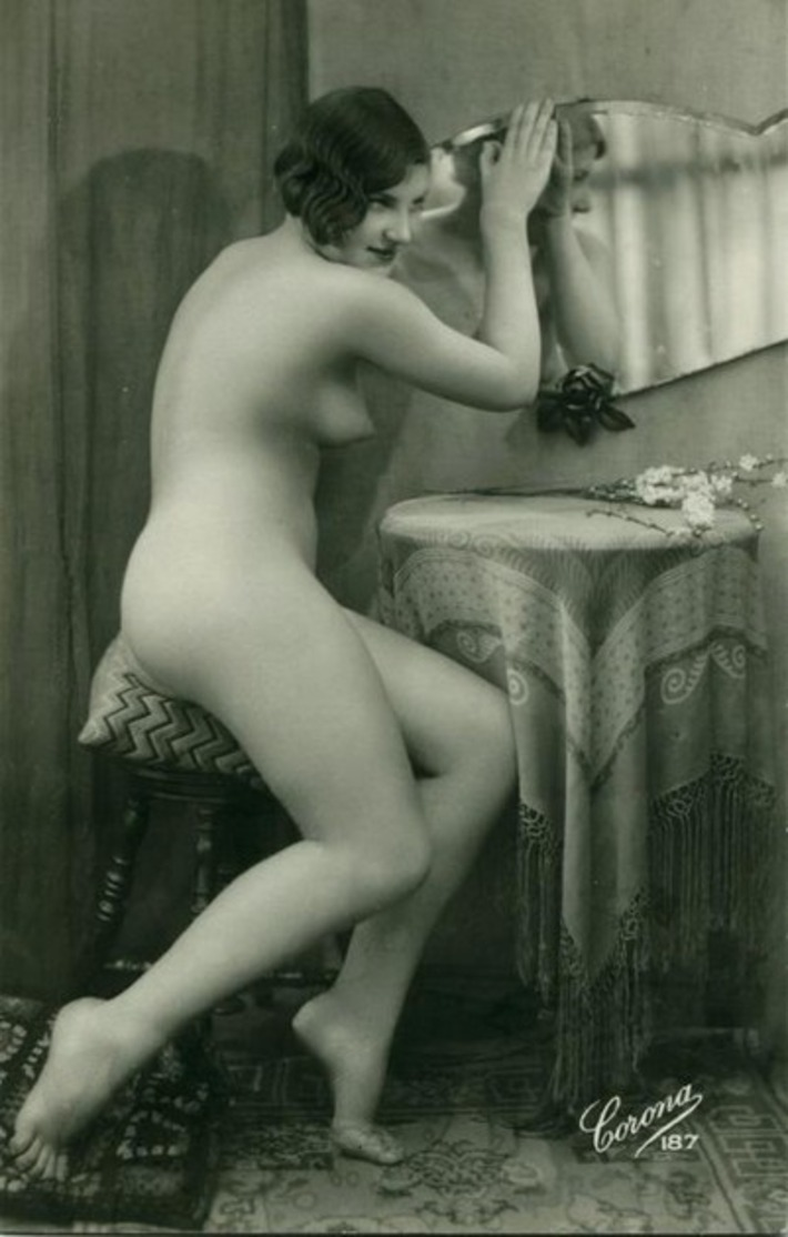 Antique Nude at the Vanity   Sex History   Scoop.it