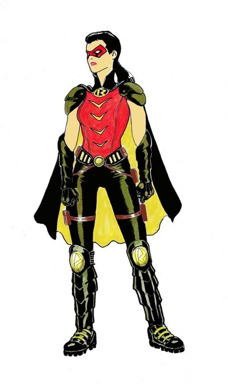 EARTH 2 CHARACTER DESIGNS – ROBIN   Comic Books   Scoop.it