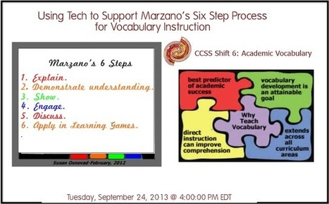 Cool Tools for 21st Century Learners: Webinars This Week | Cool Tools for Vocabulary | Scoop.it