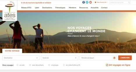 L'ATES fait le bilan de dix ans de tourisme solidaire   Commerce équitable et durable   Scoop.it