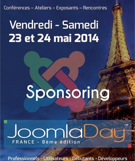 Devenez sponsor du JoomlaDay 2014 | joomladay | Scoop.it