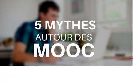 5 Mythes à Savoir autour des MOOC - Blog Neodemia | Numérique & pédagogie | Scoop.it