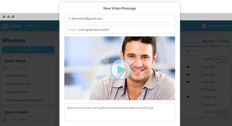 Wiind. Créer un email vidéo en deux clics | Informatique - Internet | Scoop.it