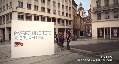 La SNCF ouvre une fenêtre entre Lyon et Bruxelles | streetmarketing | Scoop.it