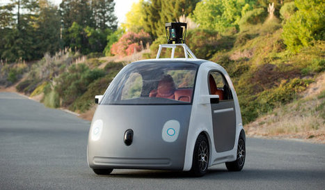 Google's Next Phase in Driverless Cars: No Brakes or Steering Wheel | Embodied Zeitgeist | Scoop.it