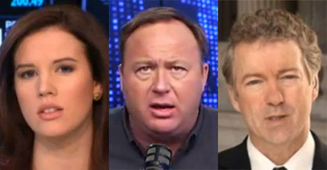 "Alex Jones Defends ""Listener"" Rand Paul On Vaccines By Attacking ""Whore,"" ""Trash, Tramp, Filth, Scum"" CNBC Anchor 