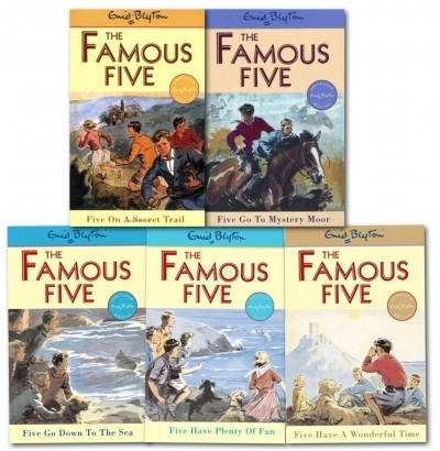 Enid Blyton Famous Five Collection 5 Books Set | Children's Books from Snazal | Scoop.it