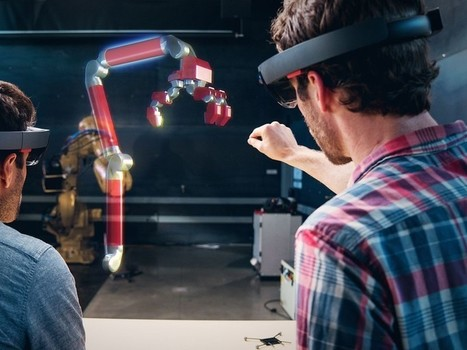 Microsoft teams up with Autodesk to help create 3D engineering models via HoloLens | Clic France | Scoop.it