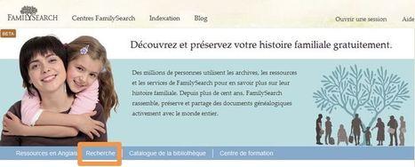 Astuce vidéo : Utilisation du moteur de recherche sur FamilySearch   Histoire Familiale   Scoop.it