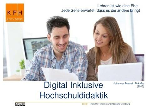 Digital Inklusive Hochschullehre | Zentrum für multimediales Lehren und Lernen (LLZ) | Scoop.it