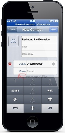 How To Add Dial Extension Number Button To Contacts On iPhone | Redmond Pie | Apple Mac info | Scoop.it