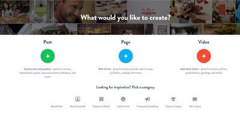 ¿Todavía no conoces Adobe Spark? Fotos con texto, vídeos y web en una aplicación. | EL BADIU del CRP | Scoop.it