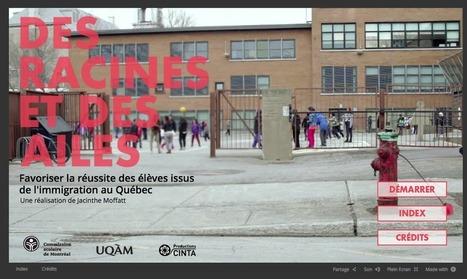 [Des RACINES et des AILES] Webdocumentaire : favoriser la réussite des élèves issus de l'immigration | actions de concertation citoyenne | Scoop.it