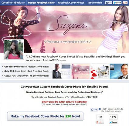 Facebook Cover : des sites pour télécharger des couvertures gratuites | Autour du Web | Web design and presentation | Scoop.it