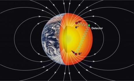 New way to probe Earth's deep interior using particle physics proposed | didáctica | Scoop.it