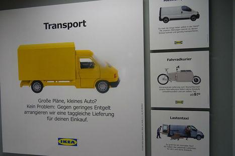 """Ikea lance le """"cliquez et roulez""""   Innovation dans la distribution   Scoop.it"""