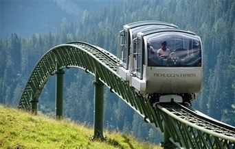 Des petites cabines sur rail pour faire le tour du lac d'Annecy ? | Avenir de la Haute-Savoie et du bassin annécien | Scoop.it