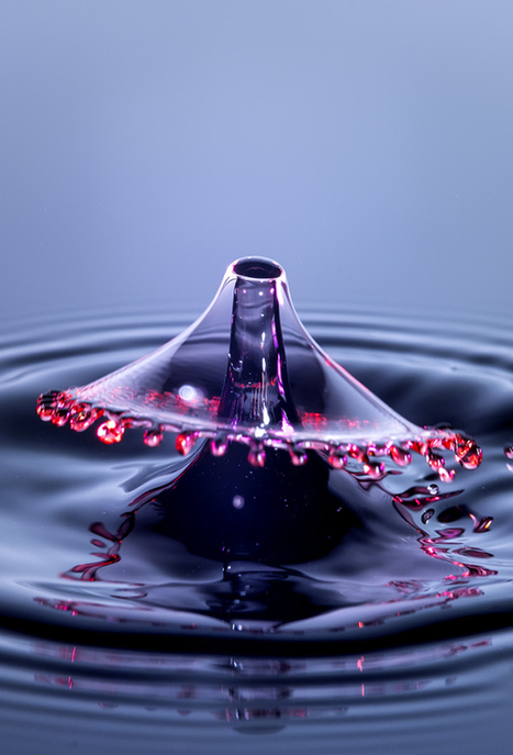 A Treatise on High Speed Water Drops with the Fuji X Pro 1 & Voigtlander 75mm f/1.8 | Mark Hilliard | Fuji X-Pro1 | Scoop.it