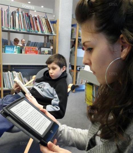 La liseuse balbutie | L'enjeu des nouveaux dispositifs de lecture en bibliothèque | Scoop.it