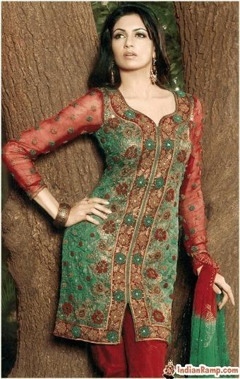 Indian Punjabi Salwar Kameez, Designer Punjabi Suits for Girls   CHICS & FASHION   Scoop.it