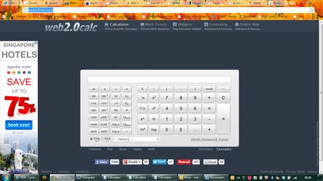 Web 2.0 scientific calculator | Adnoddau Maths | Scoop.it